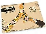 Boomerang BHOOT 55 gr - Dreiflügler Bumerang für Rechtshänder