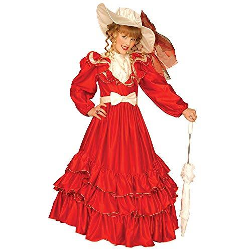 WIDMANN Scarlett-Kostüm für Mädchen - 5 bis 7 ()