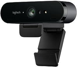 Logitech Brio Gaming 4K Webcam (Streaming Edition HD Webcam 1080p, 12-monatige Premium-Lizenz XSplit enthalten) schwarz