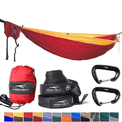 Outdoor Reise Camping Doppel Hängematte f. 2 Personen / Strandtuch / Sonnensegel - Set inkl....