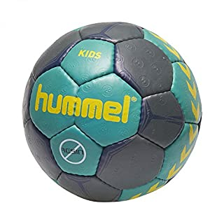 Hummel Kinder Kids Handball Viridian/Ombre Blue/Gelb, 0