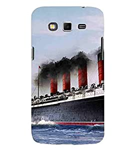 Samsung Galaxy Grand Neo I9060 :: Samsung Galaxy Grand Lite ship sea big ship Designer Printed High Quality Smooth hard plastic Protective Mobile Case Back Pouch Cover by Paresha