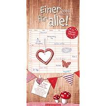 Einer für alle! 2014: Familienkalender
