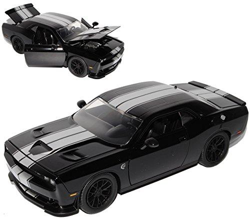 dodge-challenger-srt-hellcat-lc-coupe-schwarz-silber-streifen-ab-2008-1-24-jada-modell-auto