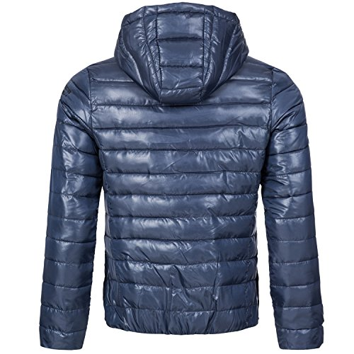 Sublevel Herren Steppjacke Navy