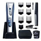 Best Cordless Clippers - HATTEKER Professional Hair Clipper Hair Trimmer Cordless Clippers Review