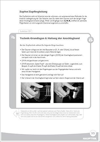 Spielend Gitarre Lernen: Die große Anfänger-Gitarrenschule (mit DVD) - 5