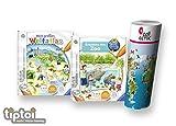 Ravensburger tiptoi  Bücher Set | Entdecke Den Zoo + Mein großer Weltatlas + Kinder Weltkarte - Länder, Tiere, Kontinente