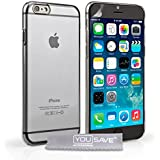 Yousave Accessories iPhone 6 Plus Case Crystal Clear Hard Cover