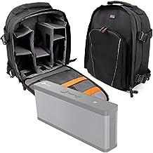 DURAGADGET Mochila Resistente Al Agua Para Altavoz Portátil 8Bitdo Retro Cube Speaker / RYGHT R481528 JUNGLE / BEiLEET Zone / TaoTronics TT-SK09 / Marsee S7730 + Funda Impermeable