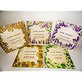 Rose Lover Scented Sachet pack of 5 each 20 gm (Fragrance : Any Five out of Jasmine, Lavender Field, Sandalwood, White Musk, Angel Flower, Morning Dew, Rose, Garden of Edan, Lily & Lotus, Apple & Dewberry)