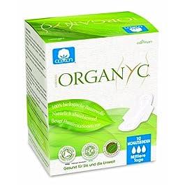 Assorbenti Organyc in cotone 100% biologico per flusso intenso – 10 unità X 4 confezioni