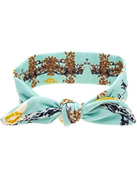 Zhhlinyuan Fashion Hair Band Accessories Baby Girls Rabbit Ears Bow Headband KT036