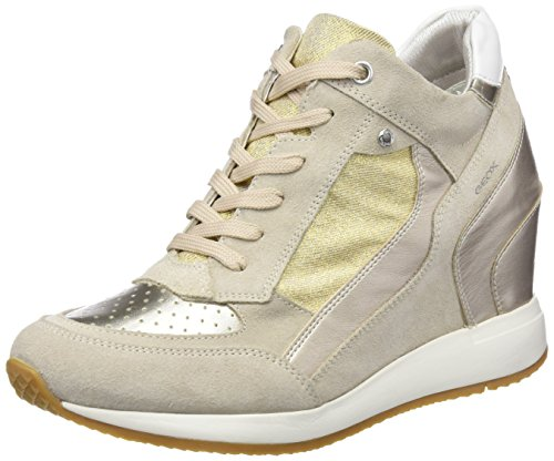 Geox Women's D Nydame a Hi-Top Trainers