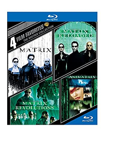 4 Film Favorites: The Matrix Collection [Blu-ray] [Import anglais]