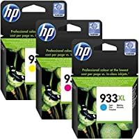 Hp 933xl High Yield Original Ink Cartridge(cyan,magenta,yellow)