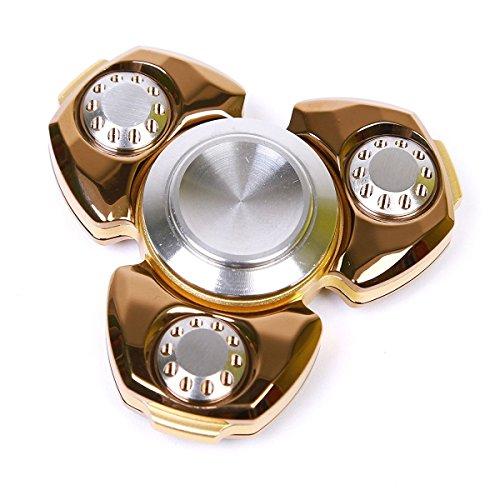 Preisvergleich Produktbild Spinner Fidget Spielzeug für die Hand,SGODDE Hand Spinner mit Drei / Trio Kugellager wie bei Inlineskates,360° Finger Spielzeug für Kinder und Erwachsene