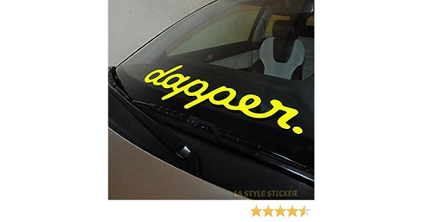 Dapper Aufkleber Frontscheibenaufkleber Autotuning Aufkleber Szene Sticker Auto