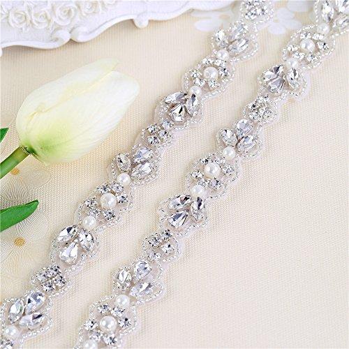 Hochzeitsapplikation für Brautkleid, Gürtelschärpe