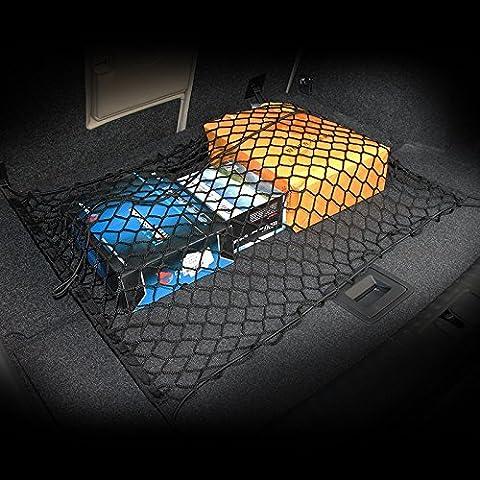 AndyGo Car Trunk Elastic Cargo Net Fit For Hyundai Elantra Accent Santa Fe Sonata Tucson I30 IX35 IX45 IX25 Solaris Verna by AndyGo
