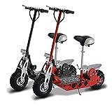 Homcom Kinder E-Scooter Scooter mit Sitz Elektro Elektroscooter Elektroroller Roller