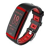 Hanbaili Fitness Tracker HR, Fitness-Uhr mit Pulsmesser, Aktivitäts-Tracker, Schlafmonitor, Schrittzähler Kalorienuhr, IP67 wasserdichtes, intelligentes Armband-Pedometer