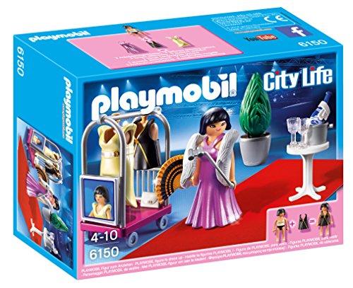 Playmobil - Famosa en la Alfombra Roja 61500