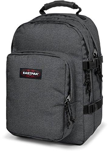 Eastpak Rucksack PROVIDER Anthrazit Schwarz 44x31x25cm Polyester Stoff mit Laptop fach 15 Zoll 38x29cm Bowatex