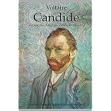 Candide (Français Anglais édition illustré): Candide (French English Edition illustrated)