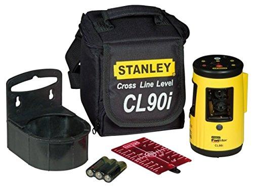 Preisvergleich Produktbild Stanley Linienlaser FatMax CL90i, maximale Messdistanz 25m, Laserklasse 1, Stativ-Universalgewinde, 1-77-021