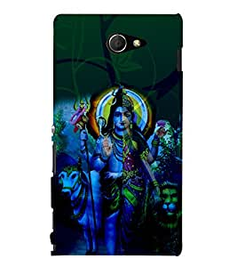 Shambhu 3D Hard Polycarbonate Designer Back Case Cover for Sony Xperia M2 Dual D2302 :: Sony Xperia M2