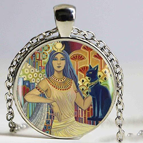 EmilyBalivet Mythologische Göttin Halskette mit Anhänger aus Silber für Frauen