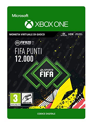 FIFA 20 Ultimate Team - 12000 FIFA Points - Xbox One - Codice download