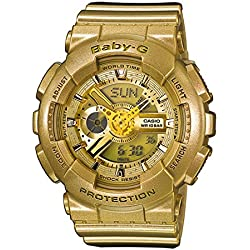 Casio BA-111-9A - Reloj (Pulsera, Femenino, Resina, SR726W, 2 Año(s), 4,63 cm)