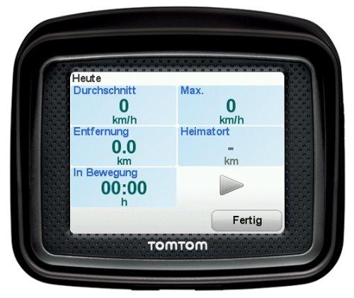 Bild 3: TomTom Urban Rider Central Europe Motorrad-Navigationssystem (8,9 cm (3,5 Zoll) Display, IQ Routes, Fahrspurassistent) mattschwarz