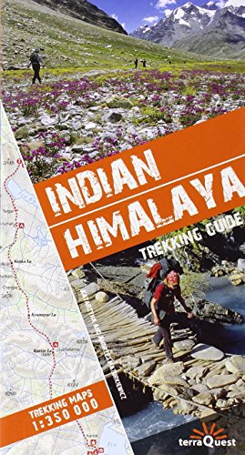 Indian Himalaya trekking guide terraQuest / maps 1/350 by TerraQuest (1-Jan-2010) Paperback