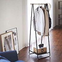 Comparador de precios Perchero Ironwood Percha Piso Percha Dormitorio Simple Ropa Colgante,Black - precios baratos