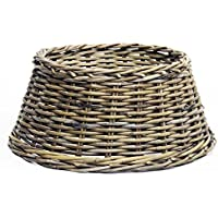 Longacres Rattan/Wicker Christmas Tree Skirt Natural