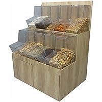Mueble kit de 100 cm con dispensador de bulto con tapa
