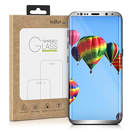 kalibri-Echtglas-Displayschutz-fr-Samsung-Galaxy-S8-Plus-3D-Schutzglas-Full-Cover-Screen-Protector-mit-Rahmen-in-Anthrazit