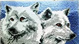 Knüpfkissen Latch Hook Kit 50cm Length Rug Animal 570