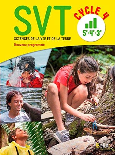 SVT cycle 4 (5e, 4e, 3e) : Livre élève - Nouveau programme 2016