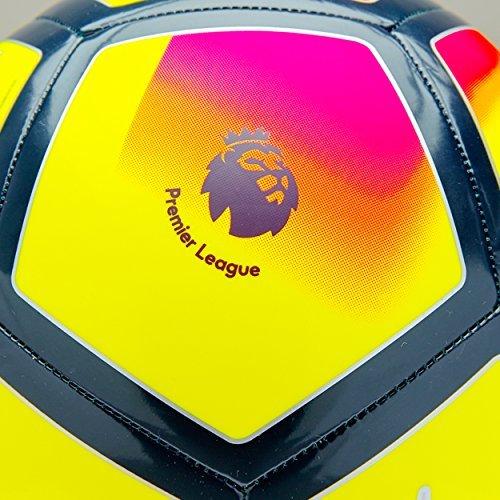 NIKE PITCH PREMIER LEAGUE FOOTBALL BALL 2017/2018 (Yellow/Crimson) size 3