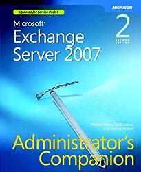 Microsoft® Exchange Server 2007 Administrator's Companion (PRO-Administrators Companion)