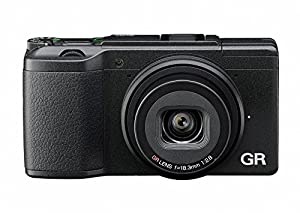 Ricoh GR II Compact System Camera - Black (16MP, 18.3 mm Wide Lens, F2.8, WiFi) 3-Inch LCD