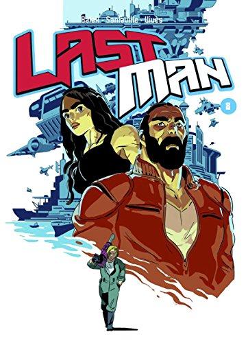 Last man. Con adesivi: 8