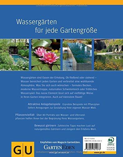 Wassergärten gestalten: Gestaltungsideen für jeden Standort - Buchrückseite