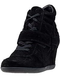 ASH Bowie Ladies Wedge Boot UK6 EU39 US8 Black