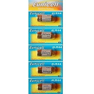 Eunicell 5 Stück 4LR44 6v Alkali Batterie 4G13 L1325 A544 476A PX28
