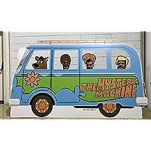 Photocall Scooby Doo | Medidas 2,60x1,55m | Ventanas Troqueladas y Accesorios de Regalo | Photocall Divertido